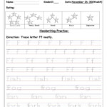 Tracing Uppercase And Lowercase Letter Ff - English Esl intended for Tracing Uppercase And Lowercase Letters