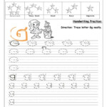 Tracing Uppercase And Lowercase Letter Gg - English Esl with Tracing Uppercase And Lowercase Letters