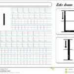 Tracing Worksheet -Ll Stock Vector. Illustration Of Skills regarding Tracing Letter L Worksheets