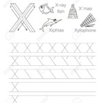 Vector Exercise Illustrated Alphabet. Learn Handwriting. Tracing.. within Tracing Letters Handwriting
