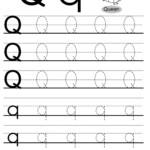 Worksheets. Letter Q Worksheet. Waytoohuman Free Worksheets within Tracing Letter Q Worksheets