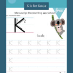 Writing And Tracing Letter K | Tracing Letters, Handwriting for Hollow Letters For Tracing