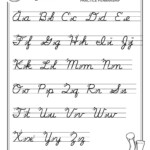 Writing Worksheets For Kids Worksheet Ideas Cursive Letters with regard to Tracing Cursive Letters Pdf