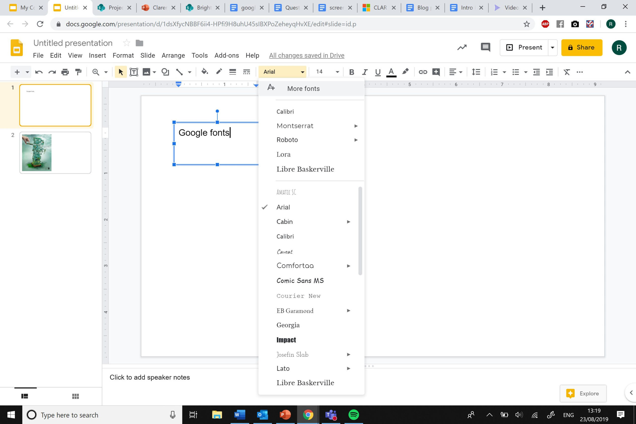 10 Best Fonts To Use In Your Next Google Slides Presentation