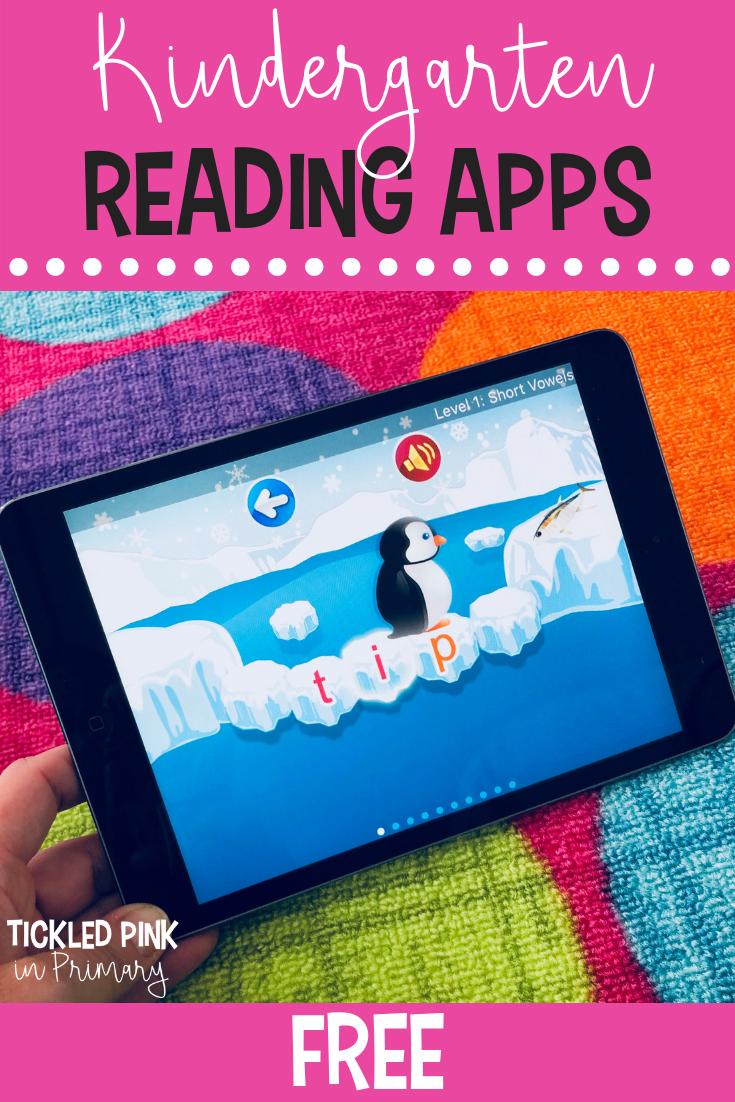 10 Free Kindergarten Ipad Apps | Kindergarten Apps, Literacy