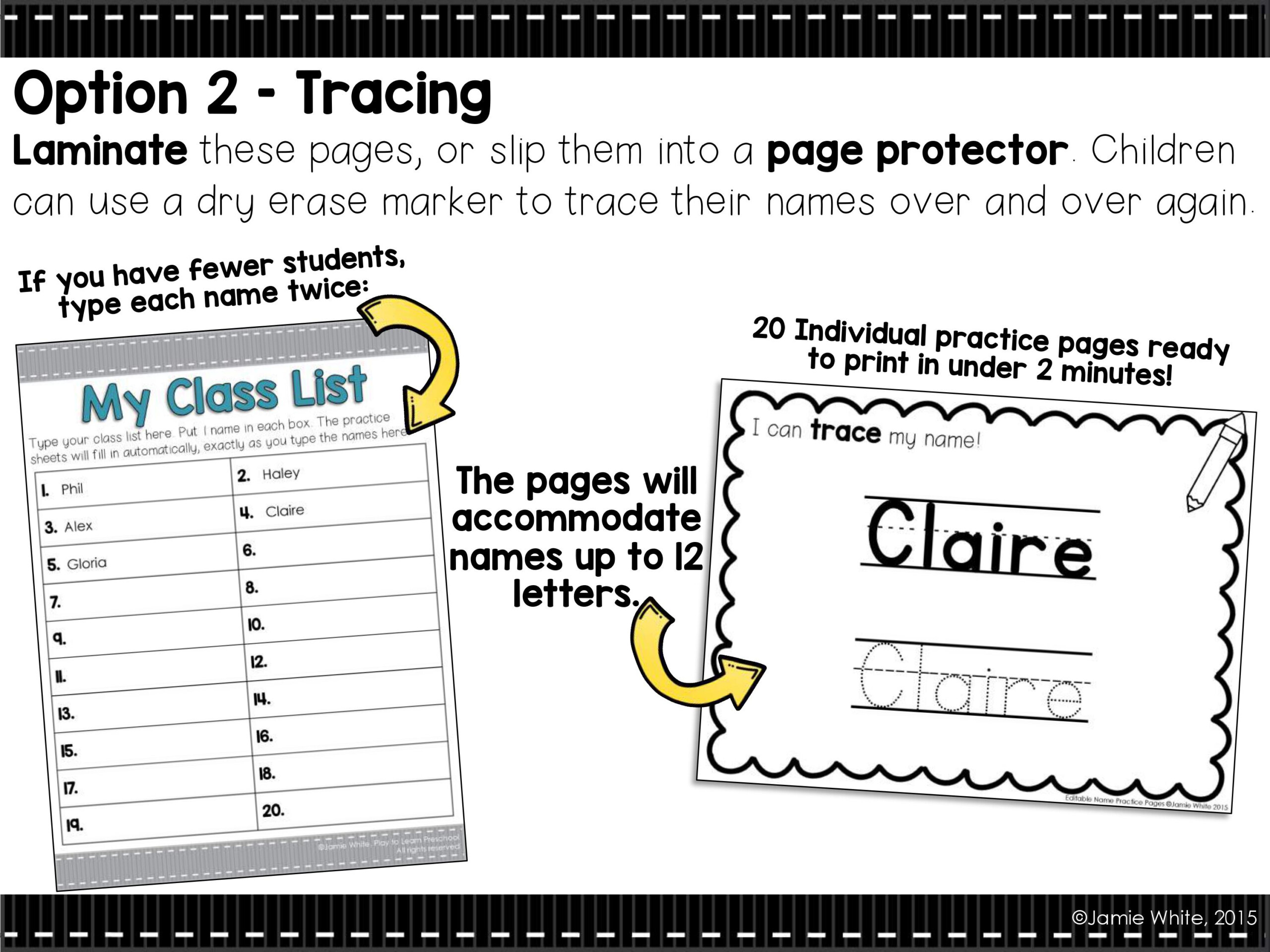 10 Ways To Help Children Master Name Writing - Play To Learn