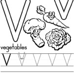 12 Learning The Letter V Worksheets | Kittybabylove