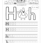 14 Enjoyable Letter H Worksheets For Kids | Kittybabylove