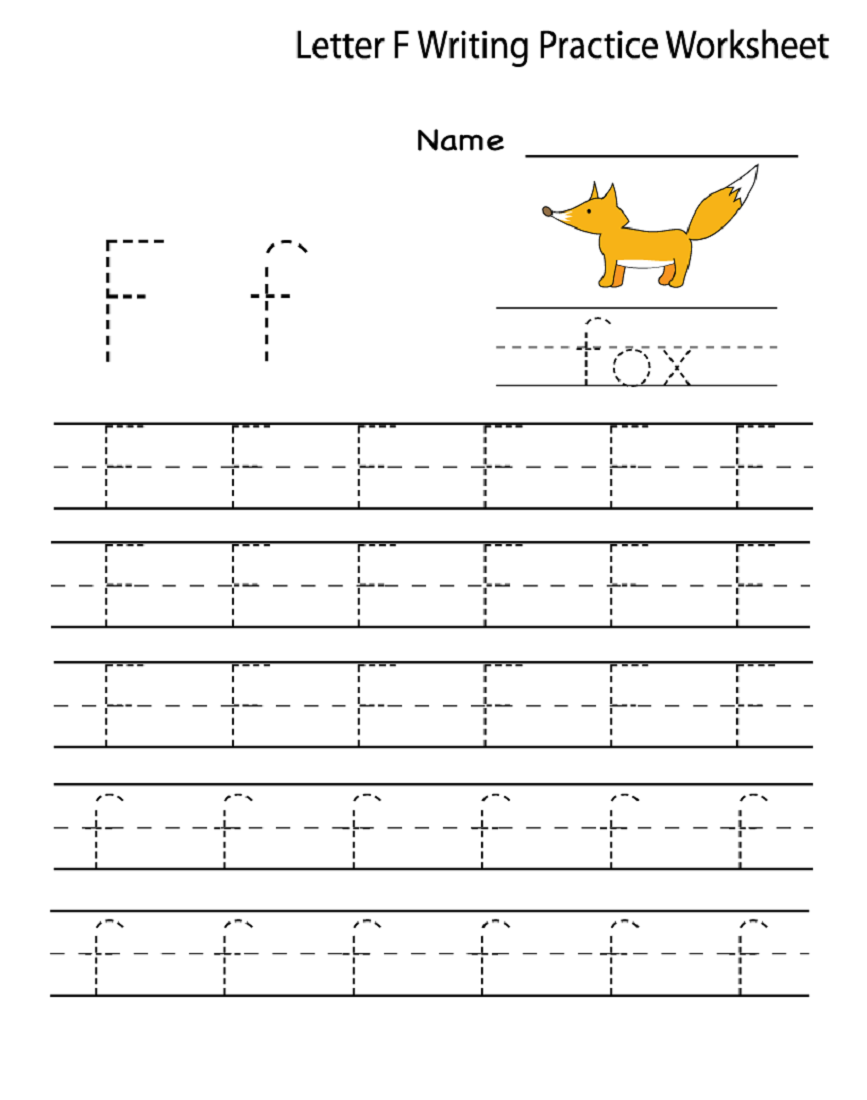 15 Useful Letter F Worksheets For Toddlers | Kittybabylove