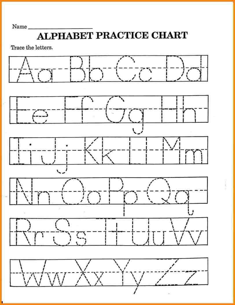 2 Trace Your Name Worksheet Alphabets In 2020 | Printable