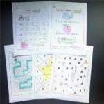 26 Alphabet Learning Practice Paper English Workbook 130Pcs 5 Plays Fun  Writing Homework Notebook Kids Education Toys Children