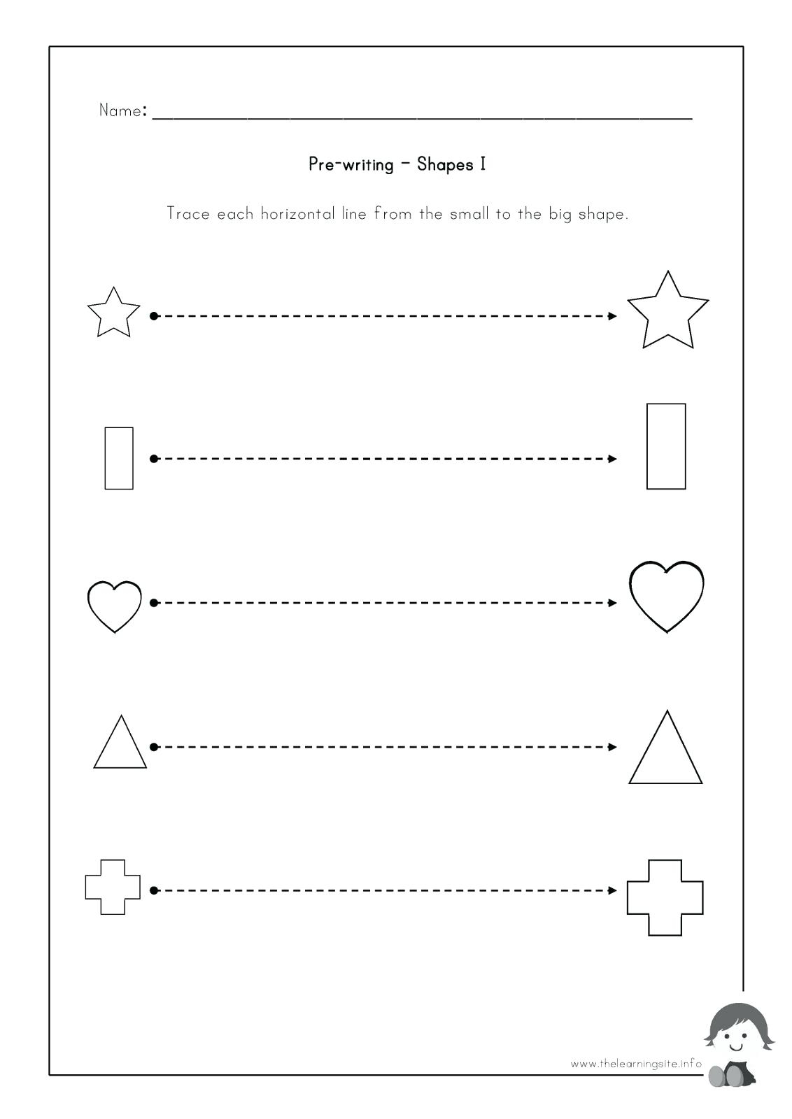 3 Year Old Worksheets | Printable Worksheets And Activities