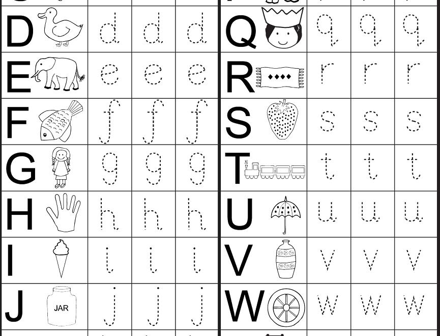 4 Year Old Worksheets Printable | Preschool Worksheets