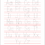 5 Best Images Of Free Printable Alphabet Tracing Letters