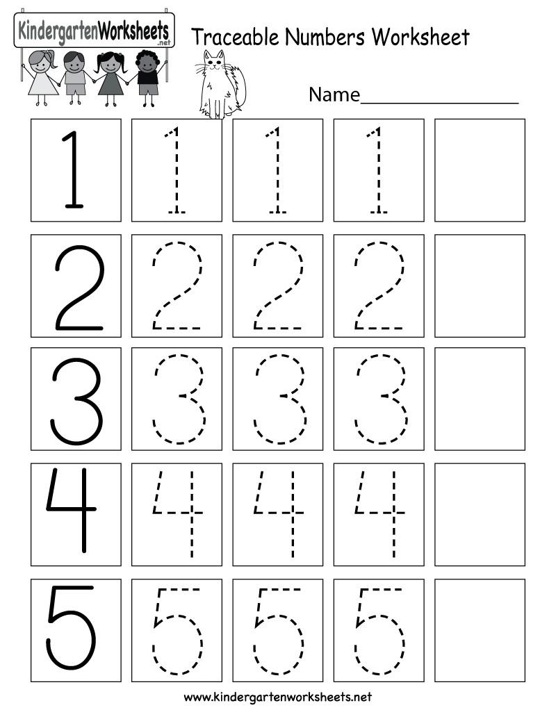 6 Pre K Number Worksheets – Learning Worksheets