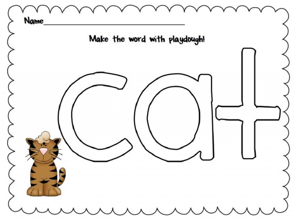 7 Cat Tracing Worksheet – Learning Worksheets