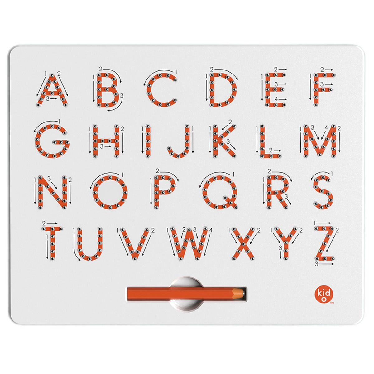 A-To-Z Magnetic Tablet   Educational Toy, For Kids, Alphabet