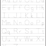 Abc & 123 Tracking Pages For Letters & Numbers