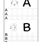 Abc Alphabet Letters Tracing Worksheet With Alphabet Letters