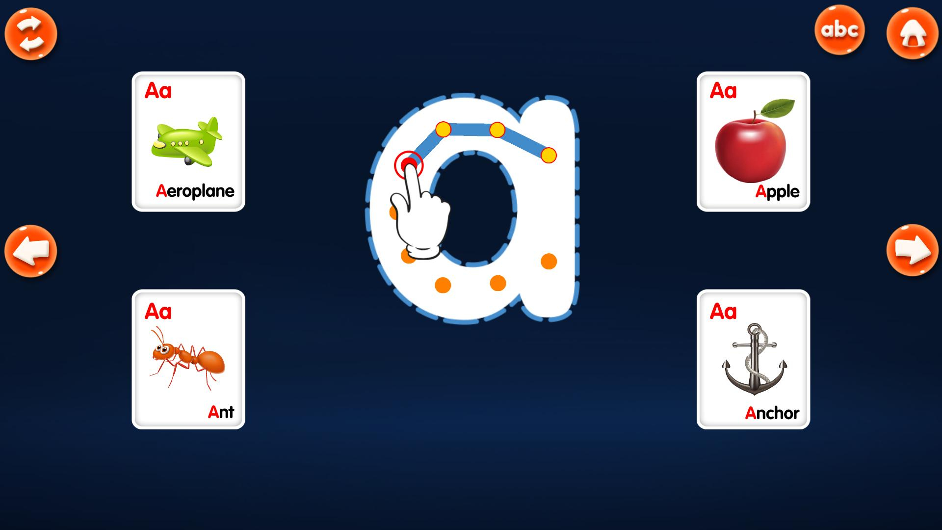 Abc Alphabet Tracing For Android - Apk Download