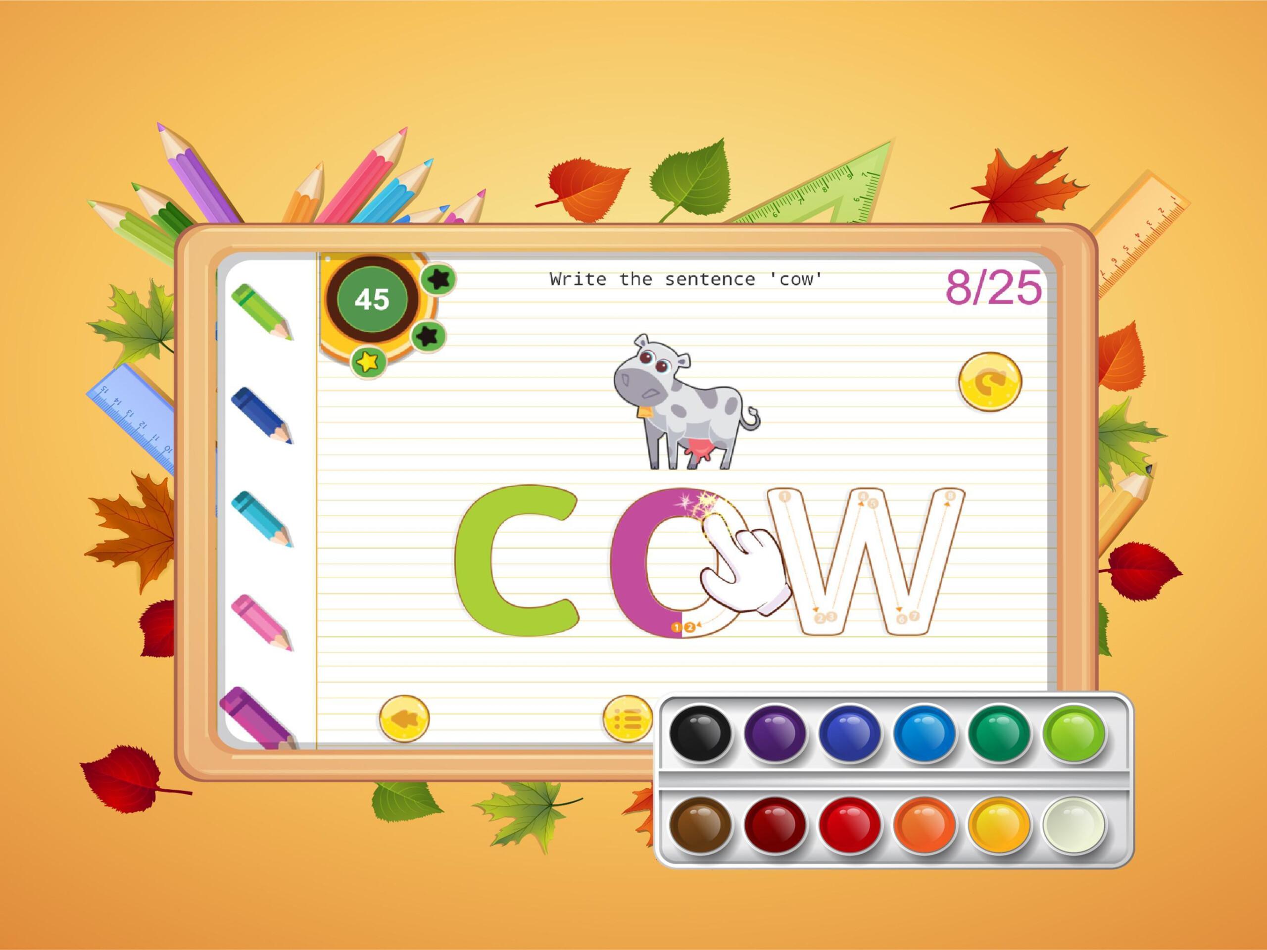 Abc Kids Writing Alphabet - Trace Handwriting App For