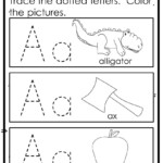 Abc Practice Trace And Color Printables | Letter Recognition