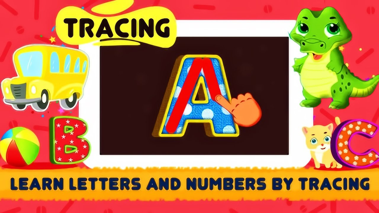 Abc Song - Rhymes Videos, Games | Phonics Learning | Learn Alphabet | Abc  Tracing | Funny Kids Video
