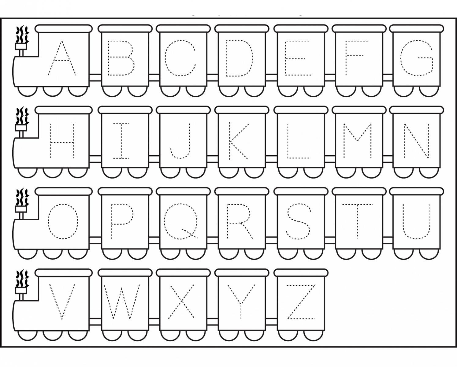 Abc Tracing Sheets