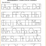 Abc Worksheets Pdf Alphabet Tracing Worksheet For Preschool