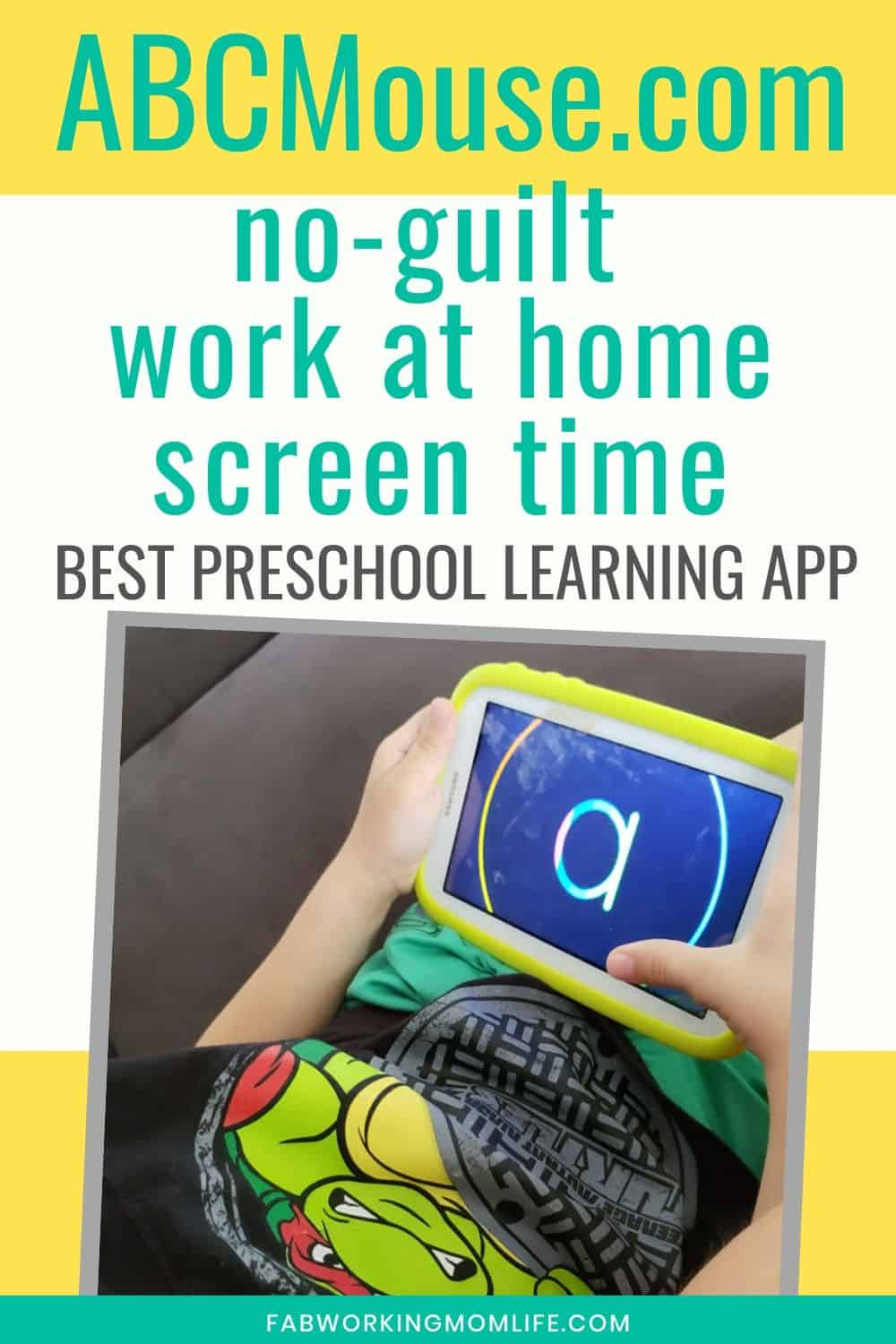 Abcmouse Review: No-Guilt Screen Time - Fab Working Mom Life