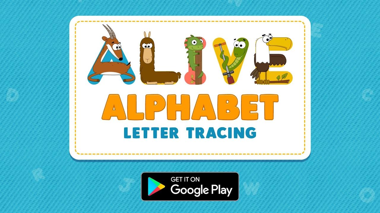 Alive Alphabet: Letter Tracing