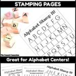 Alphabet Letter Stamping Center | Letter Recognition
