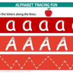 Alphabet Letters Tracing Mats Standard Print | Tracing