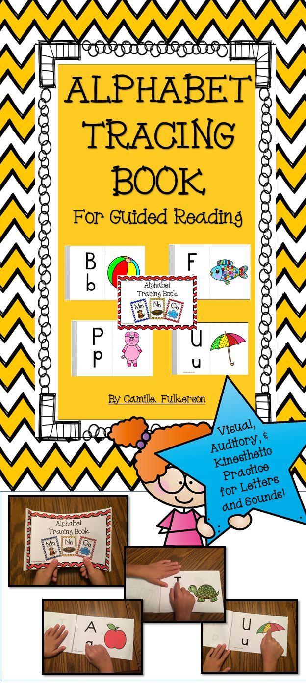 Alphabet Tracing Book | Alphabet Tracing, Alphabet Book