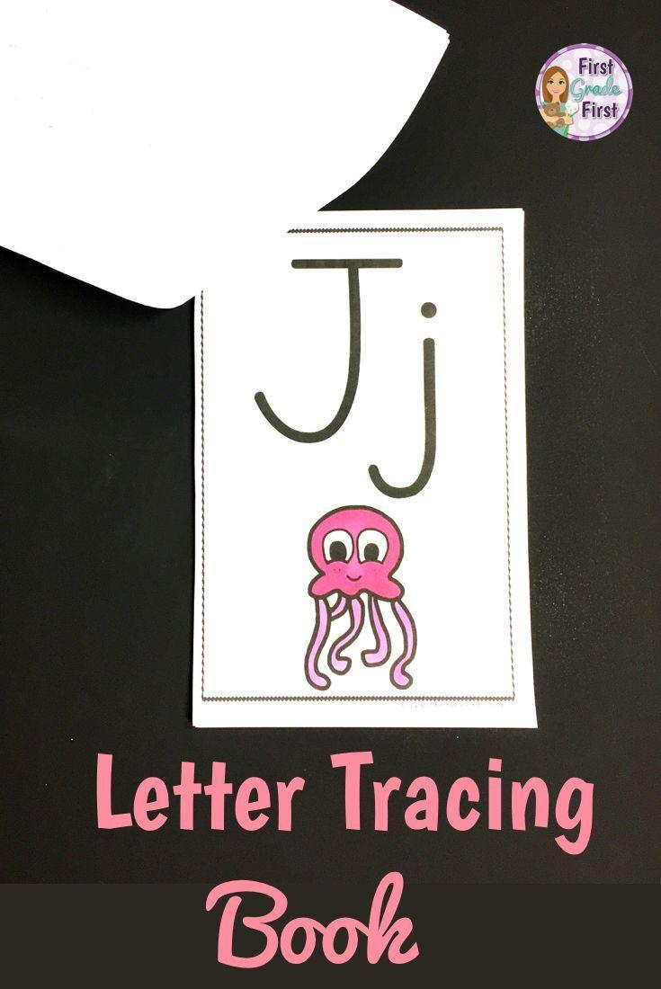 Alphabet Tracing Book | Kindergarten Letters, Tracing
