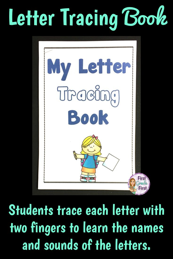 Alphabet Tracing Book (With Images) | Elementary Reading