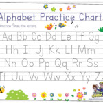 Alphabet Tracing For Preschoolers | The Preschool Adventures