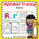 Alphabet Tracing Mats - Play Dough Mats