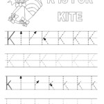 Alphabet Tracing Pages For Kids' Exercise! | Dear Joya