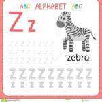 Alphabet Tracing Worksheet For Preschool And Kindergarten