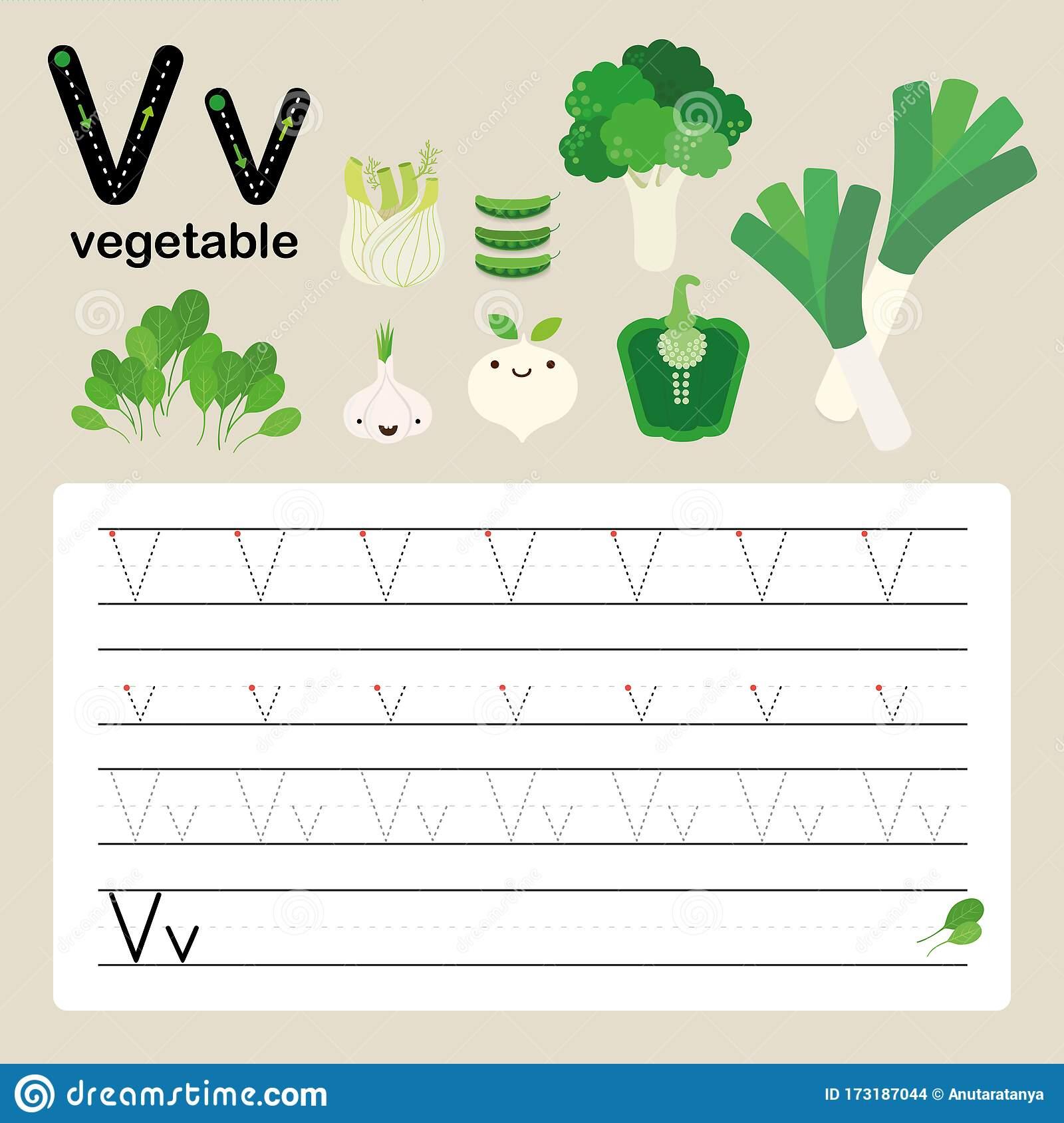 Alphabet Tracing Worksheet For Preschool And Kindergarten To