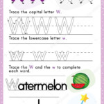 Alphabet Tracing Worksheet Writing Exercises Kids Paper