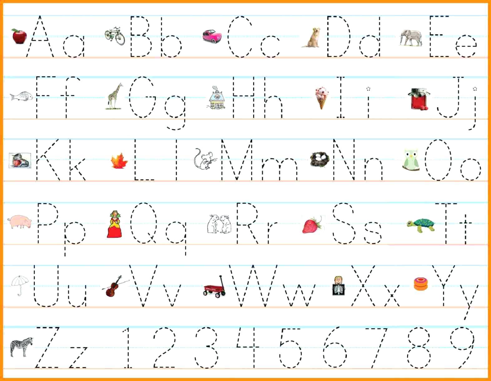 Alphabet Worksheets Pdf Free - Clover Hatunisi