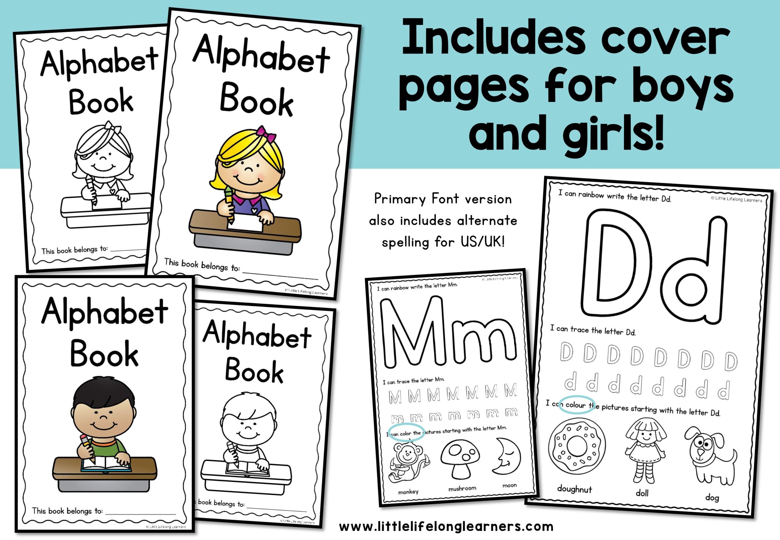 Alphabet Writing Worksheets
