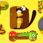 Animal Alphabet Game - Learn Abc | Letter Tracingintellijoy | Talking  Abc | Educational Video Hd