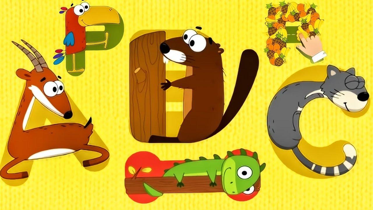 Animal Alphabet Game - Learn Abc | Letter Tracingintellijoy | Talking  Abc | Educational Video Hd