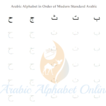 Arabic Alphabet Tracing Worksheets - Arabic Alphabet Online