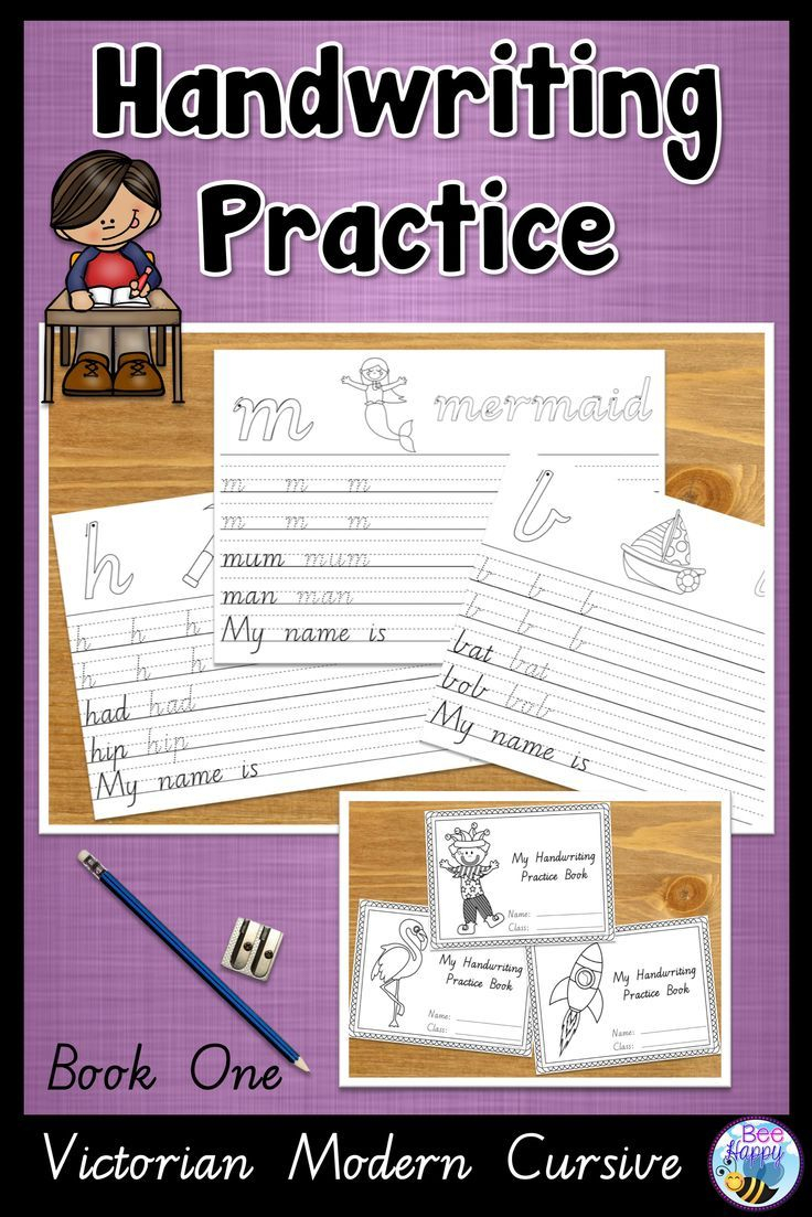 Australian Handwriting Practice Book 1 Victorian Modern