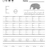 Best Of Preschool Letter E Worksheet | Educational Worksheet