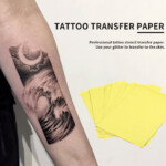 Bgd 10Sheets Tattoo Transfer Carbon Paper Supply Tracing Copy Body Art  Stencil A4